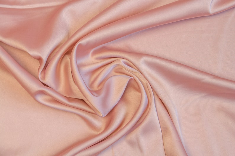 Metallic Rose Gold Fabric Tablecloth 60in x 104in   Party City