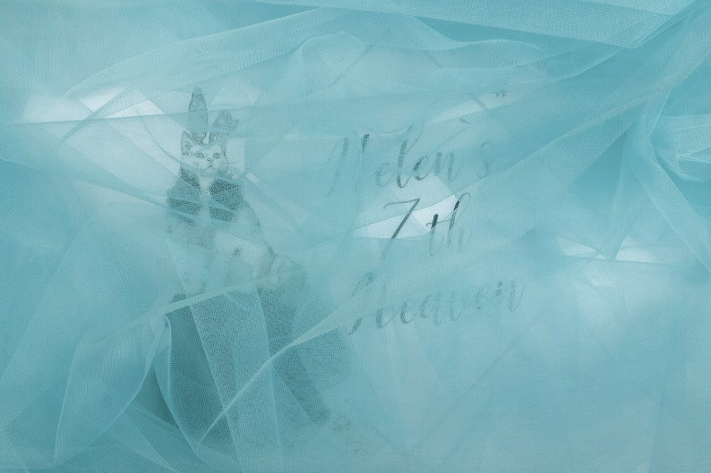 TOPAZ BLUE Tulle by the Bolt #12 Soft Tulle for Bridesmaid Dress Tutu Skirt Wholesale Tulle Material Dusty Blue Tulle Tulle by the Roll