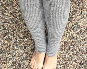 Extra long leg warmers Knitted leg warmers  Boot leg warmers Womens leg warmers Wool leg warmers Very long leg warmers