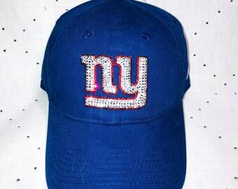 255434ffead Women s New Bling New York Giants Swarovski Hat