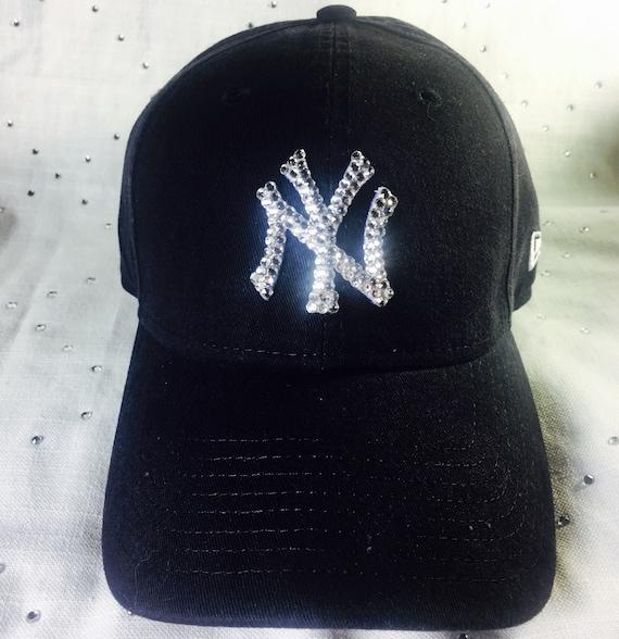 Women s NewSwarovski Bling New York Yankees Hat  80d7f2bcde7