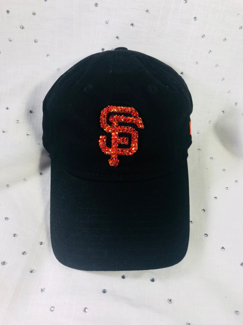 8c50049a3c33a9 Women's Bling San Francisco Giants Swarovski Hat | Etsy