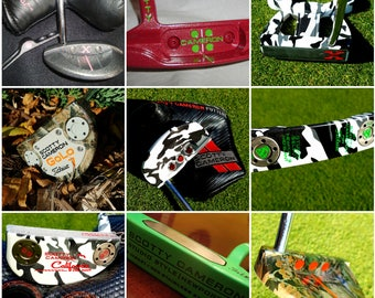 CUSTOM WORK - Graphics and Paint for golf putters and other clubs