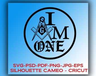 Digital files: 3-Pack Freemason Square and Compasses  * CRICUT Silhouette Cameo * Instant Download png,eps,jpg SVG,PSD