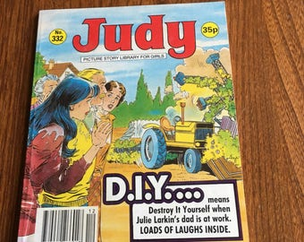 Judy Girls Comic Picture Story Library for Girls no332 1990
