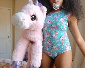 b32a1109f Unicorn Adult Onesie, abdl onesie, adult baby onesie, ddlg onesie, abdl,  ddlg, littlespace, age regression, ageplay, adult onesie, bodysuit