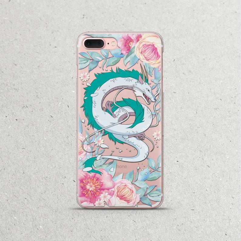 newest 1713e c2fa9 Spirited Away Phone Case Haku Dragon Anime iPhone for iPhone X 8 7 6s 6  plus Xs Max Xr Case Studio Ghibli Art Gift iPhone 5 5s se 5se Cover