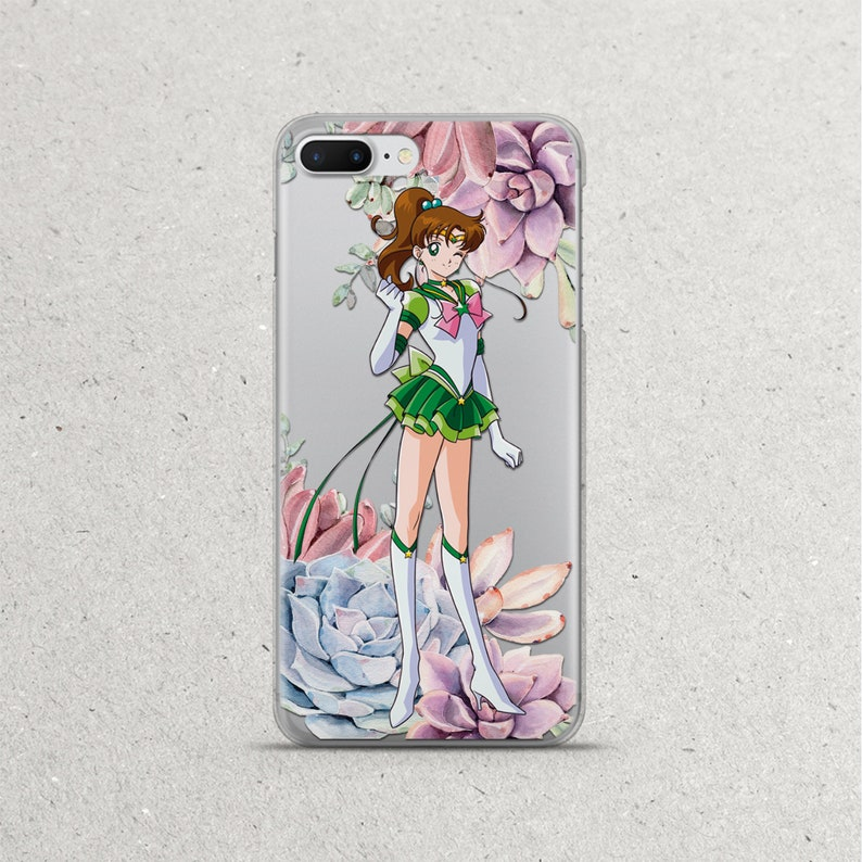 e4f44b9a9ef Sailor Moon Jupiter Phone Case Anime Flower Floral iPhone X Xs | Etsy