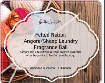 English Angora/Sheep Wooly Dryer Ball