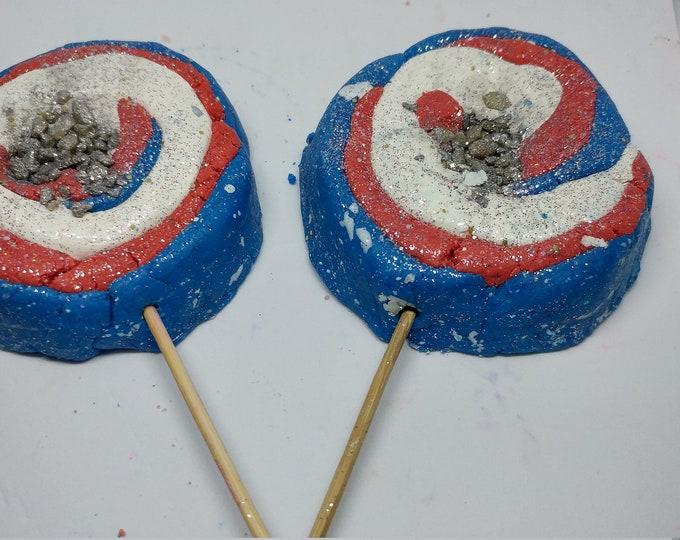 Soda Sparkler Bubble Wand   Fizzy Cola Lollipop   Reusable Bubble Wand