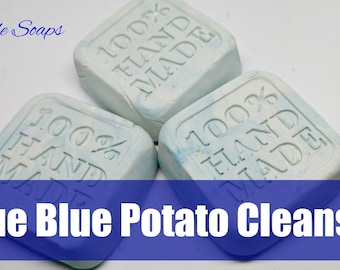 Recipe Potato Soap Dough Solid Soap Cleanser Soap Free Formulation *Idaho Spud Bubble Dough*