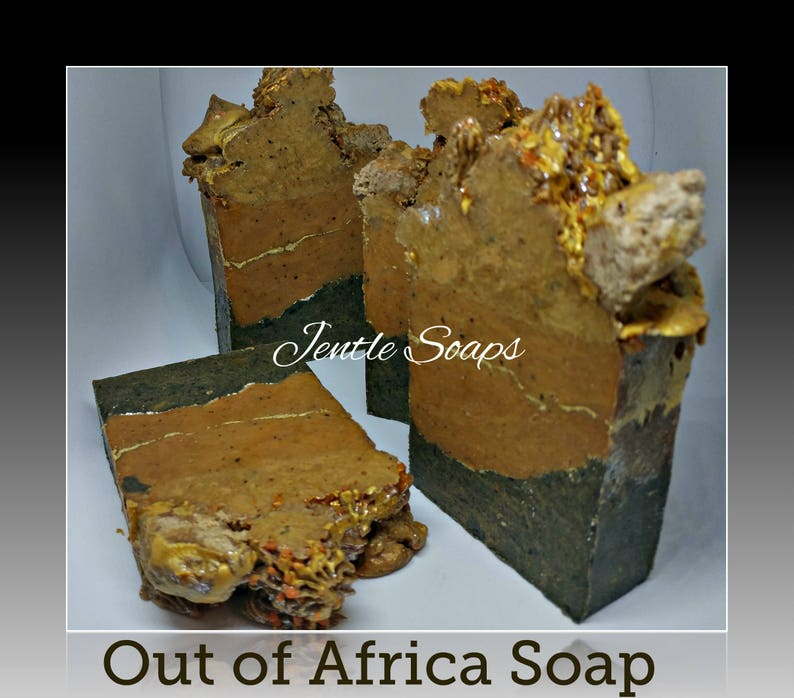 Out of Africa Solid Artisan Soap Shampoo Puck and Soap Bars image 0