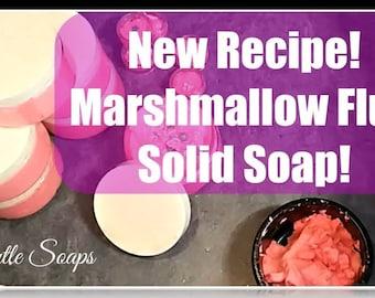 Marshmallow Fluff Soap Recipe with BONUS!