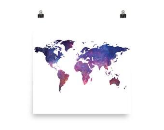 World map, map, travel map, map art, world map wall art, map print, world map poster, map of the world, world map canvas,map poster