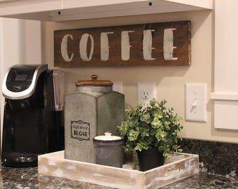 Coffee Bar Decor Etsy