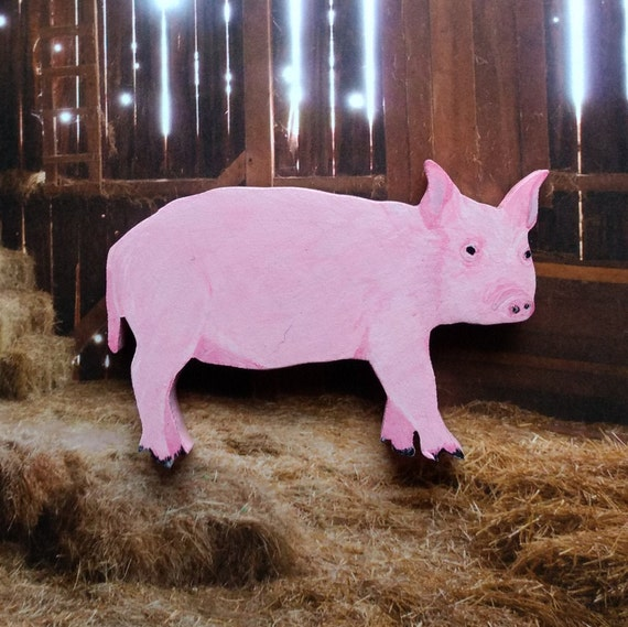 Tremendous Pig Magnet Large Pig Magnet Pink Pig Kitchen Magnet Pig Decor Pig Gift Pig Lover Gift Wood Pig Hand Painted Pig Pink Pig Download Free Architecture Designs Grimeyleaguecom