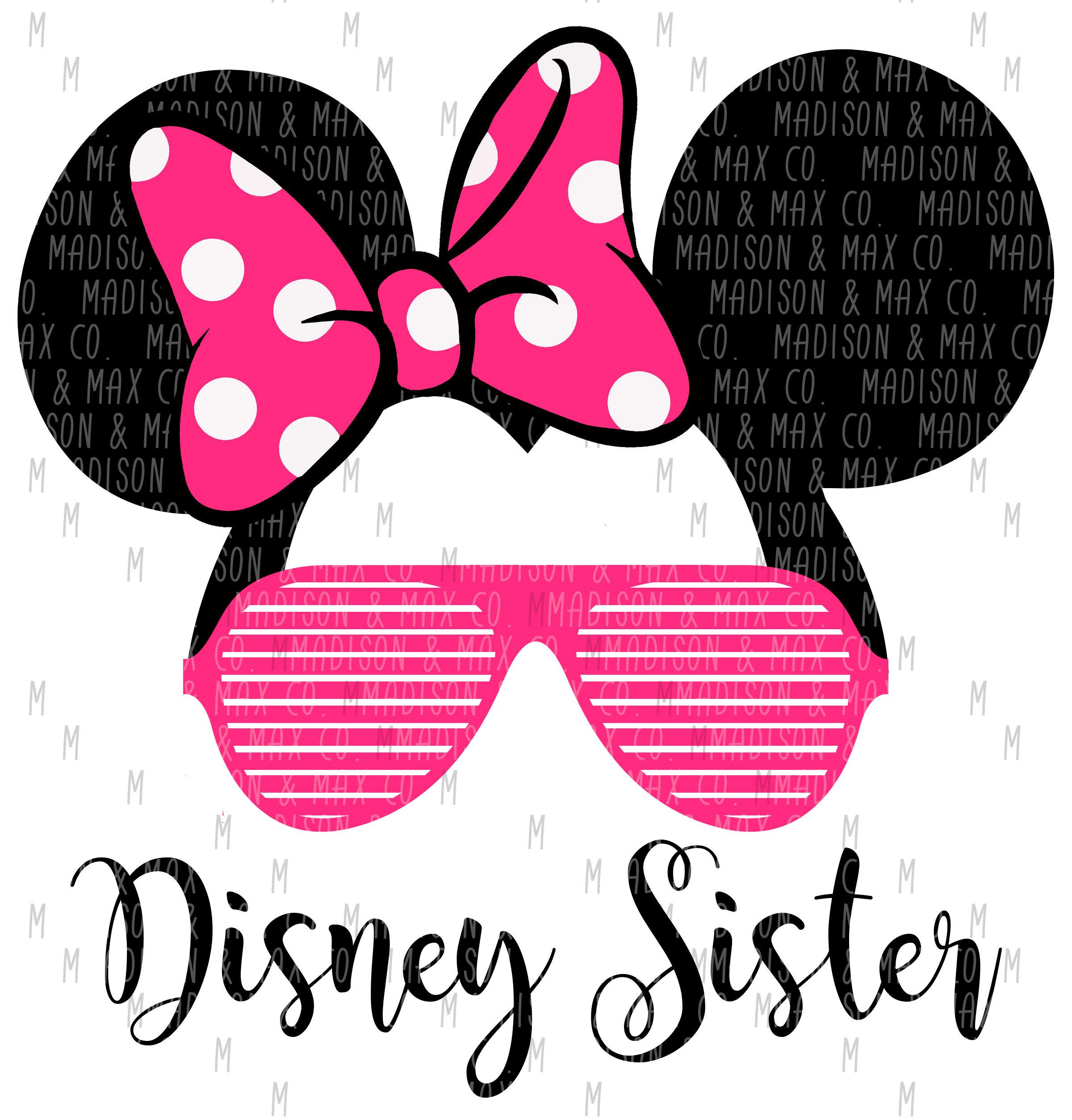 Disney Sister SVG Disney Inspired SVG SVG Files Kids Svg | Etsy