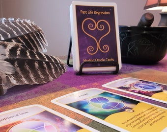 Past Life Regression Healing Oracle Card Deck
