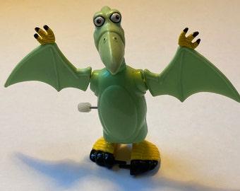 Vintage Pterri Pterodactyl from Pee Wee Herman's Playhouse Set- 1987 Matchbox- Original Owner
