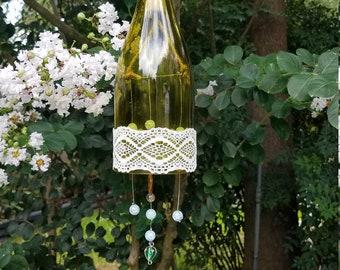 Homemade Wine Glass Wind Chimes