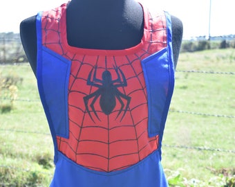 Spiderman Inspired Apron