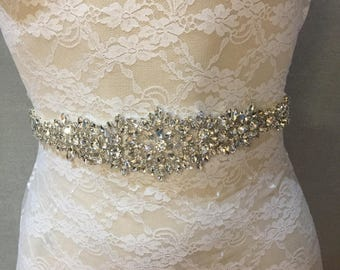 Bridal Belt   Wedding Belt   Bridal Sash   Wedding Sash   Crystal Bridal Belt   Bridal Accessories   Wedding Accessories