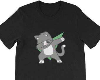 b7b594f5882 Dabbing Cat Shirt Dab Dance Move Unisex T Shirt