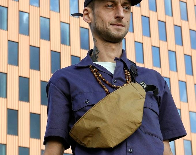 "MOONROCK Minimalistic Waistpack   Slingbag   Fannypack // X-Pac™ with AustriAlpin 1"" Cobra® buckle// Techwear // EDC // colors to choose"