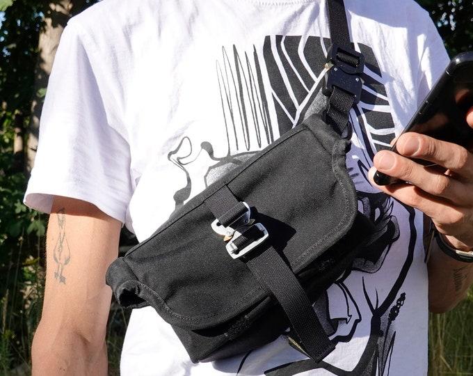 EVERYDAY BAG 1.0 , Micro Messenger Bag with AustriAlpin Cobra ® Buckle // Cordura® 500D - Custom Colors
