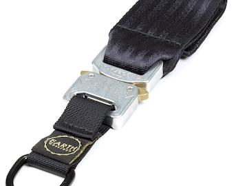 COBRA® BUCKLE KEYCHAIN - Polished buckle / webbing to choose // techwear, technical, streetwear, urbanwear, urbangear