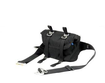EVERYDAY BAG 2.1 , Roll Top Messenger Bag with AustriAlpin Cobra ® Buckles // Techwear SlingBag Travel Bag  // Custom Colors Cordura® 500D