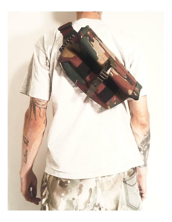 Roll Top Messenger Bag // Camo Cordura® 1000d