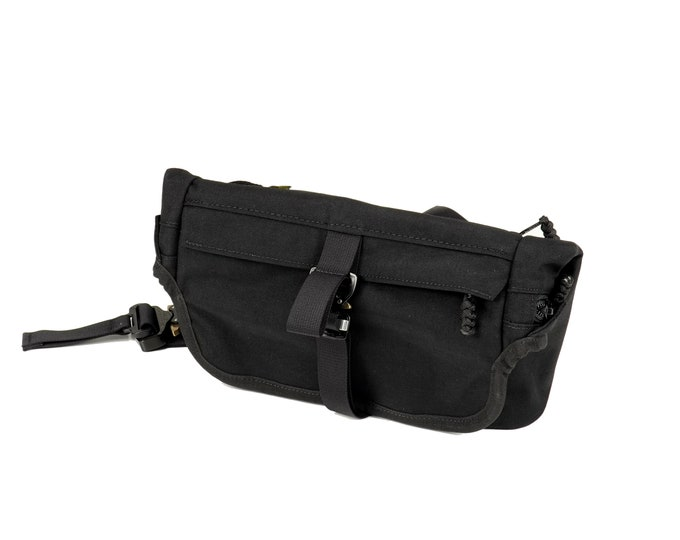 EVERYDAY BAG 2.0 + MOD , Roll Top Messenger Bag with AustriAlpin Cobra® Buckles / Techwear SlingBag Travel Bag / Custom Colors Cordura® 500D