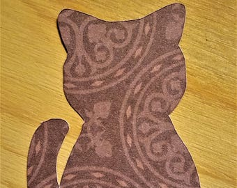Brown Cat Gift Sales Tags