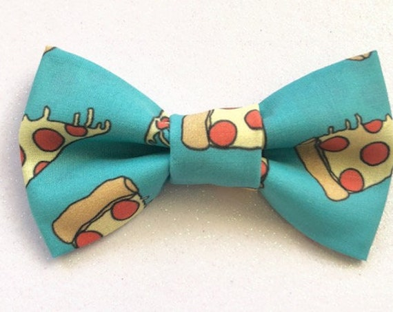 Pizza Pawty Pet Bow Tie