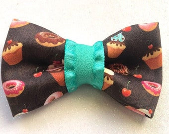 Chocolate Covered Pet Bow Tie