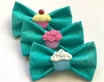Cupcake Heaven Pet Bow Tie