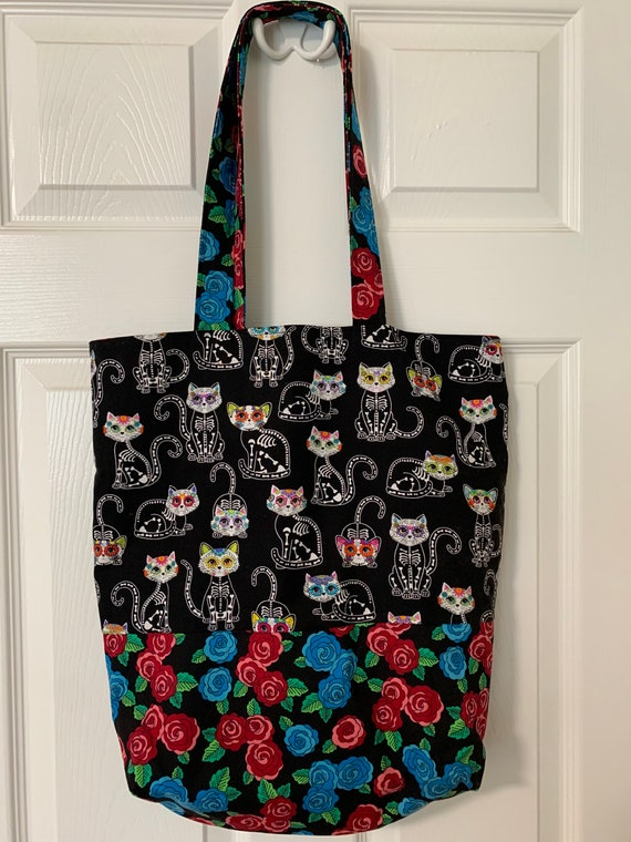 Halloween Cat Lady Tote