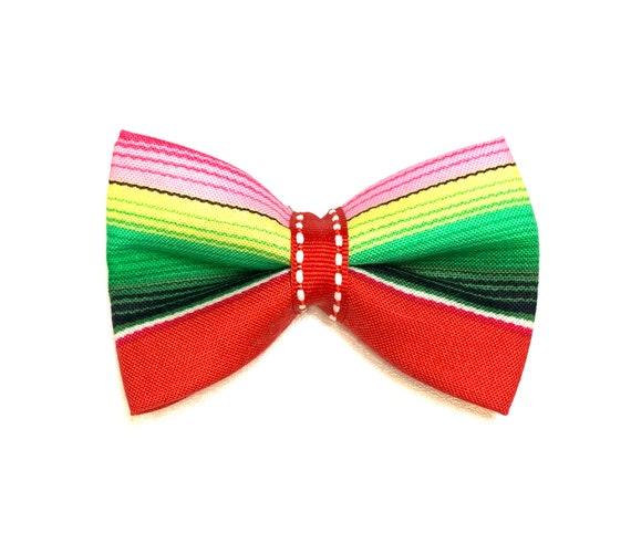 Zarape / Serape Cat Bow Tie/ Dog Bow Tie