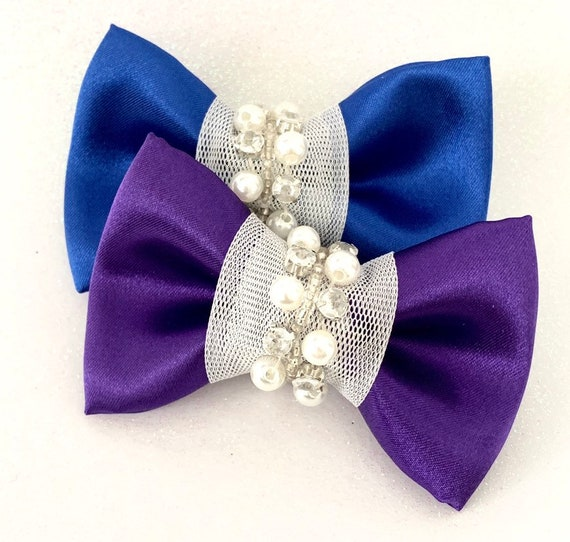 Midnight Dance Pet Bow Tie