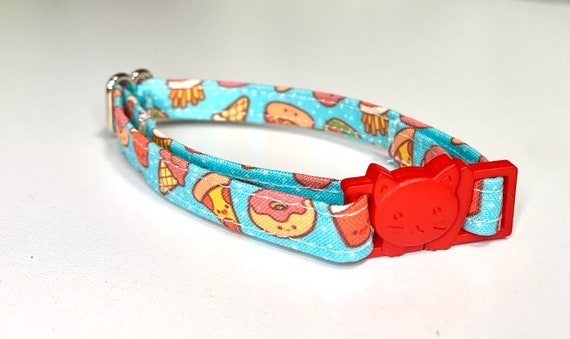 Yummy Food Cat Collar