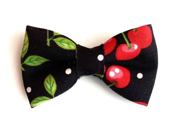 Cherry Pie Pet Bow Tie