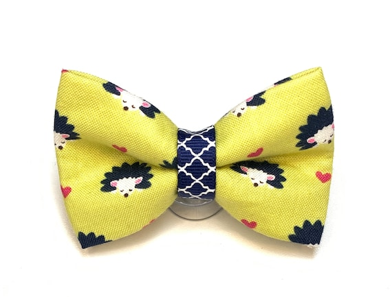 Hedgehog Cat Bow Tie/ Dog Bow Tie