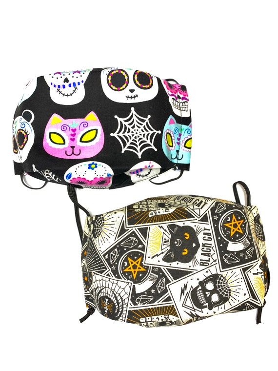 Sugar Skull/Tarot Cards Face Mask 3D Face Mask