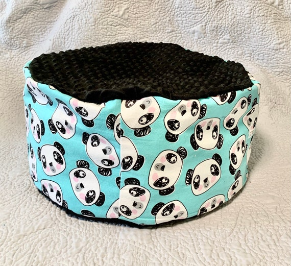 Panda Marshmallow Plush Bed for cats/ small dogs