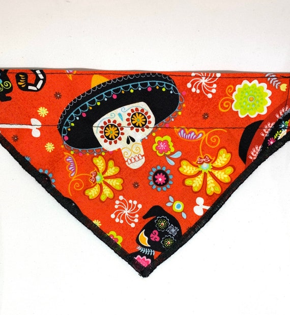 Day of the Dead Dog and Cat Bandana