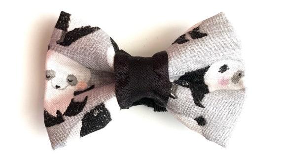 Panda Pet Bow Tie