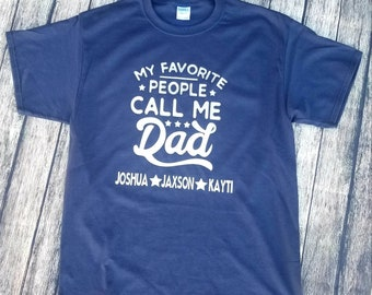 Personalized Shirt Great for Father's Day!