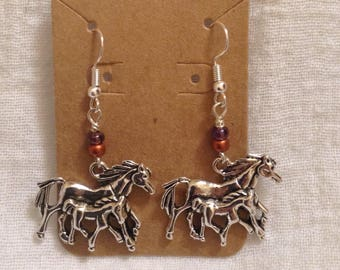 Horses Earrings