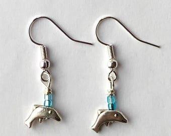 Tiny Little Dolphin Earrings